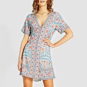 ARNHEM Marigold Crystal Mini Dress